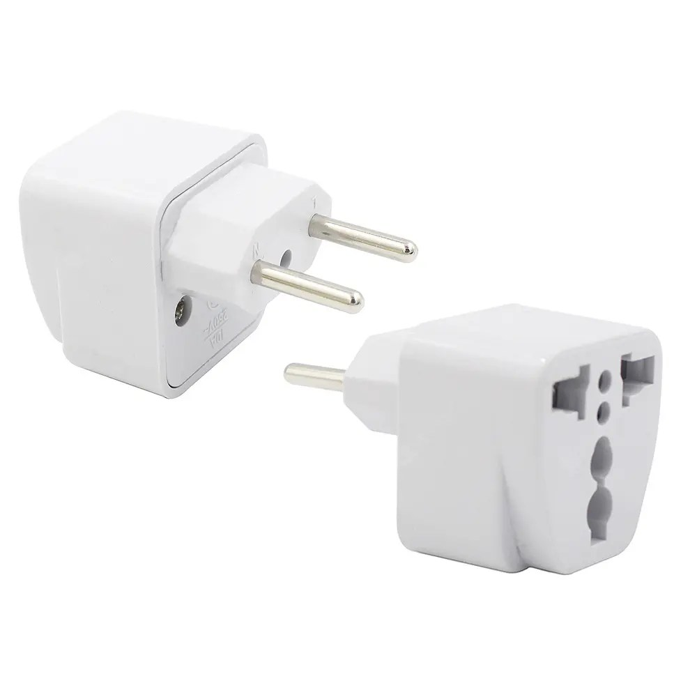 Travel Adapter Eu To Uk 2pcs 2500w Us Uk Eu Au To Eu Plug Socket Charger Travel Power Adapter Converter