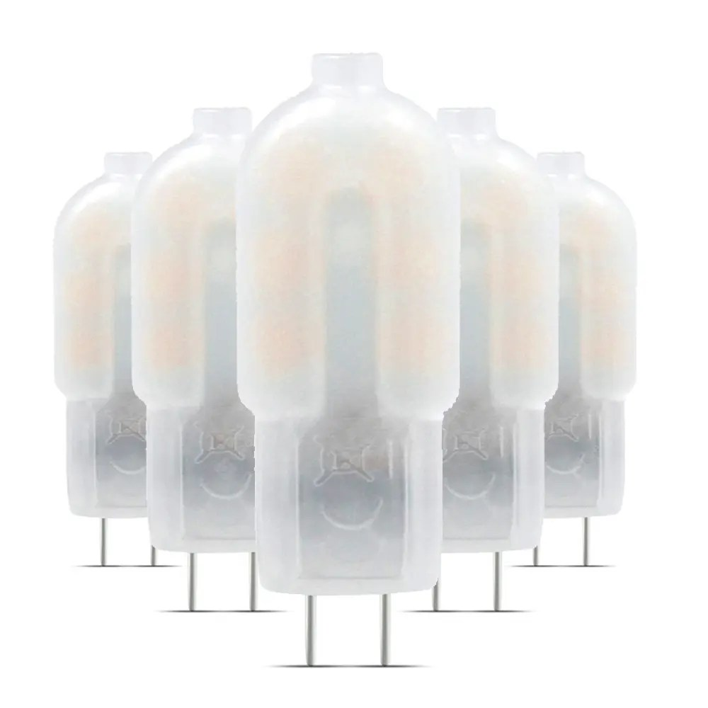 12v Lampe 5pcs G4 Led Lampe Lampada 360 Degree Milky White Shell Dc 12v