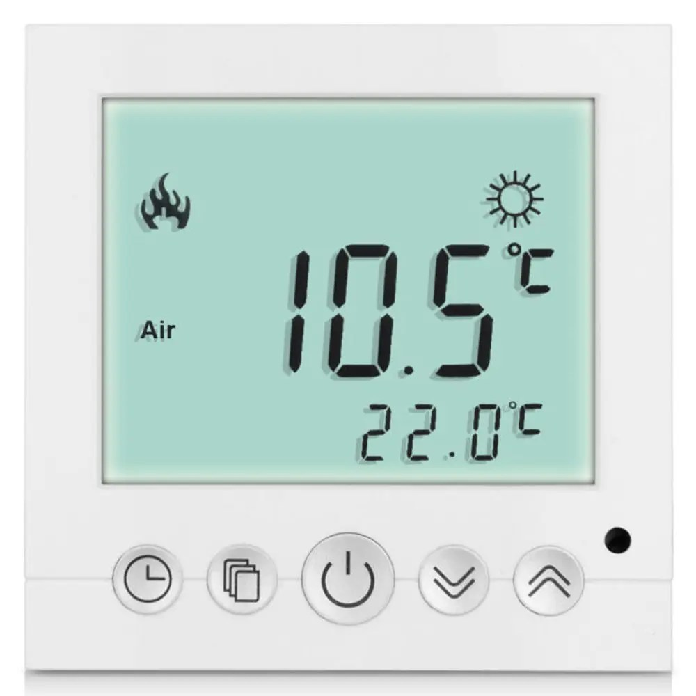 Heating Thermostat Ts C16 Lcd Display Heating Thermostat Touchscreen Durable Temperature Controller