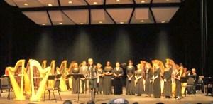 WCU Harpfest XXI Honors professional adult students