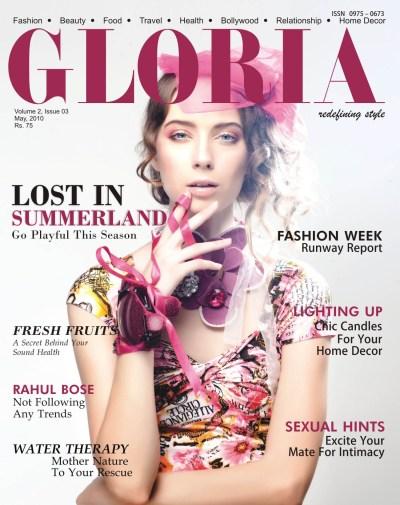 GLORIA – Fashion And Lifestyle Magazine May 2010 Issue ...