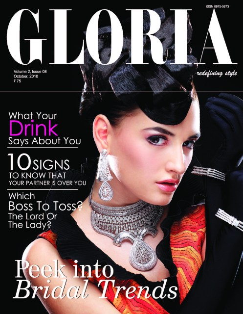 GLORIA – Fashion And Lifestyle Magazine October 2010 Issue ...
