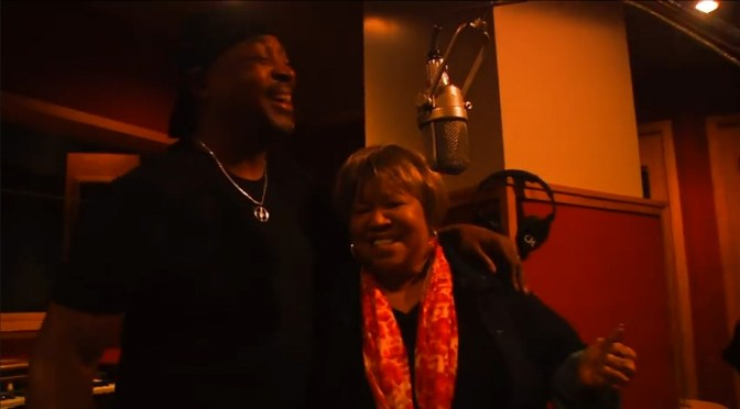 Chuck D and Mavis Staples