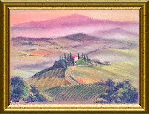 Tuscany Retreat Pastel