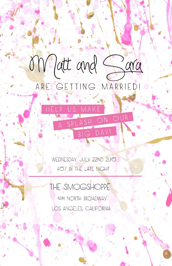 DIY Save the Dave and Wedding Invitation Design Templates - wedding template