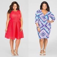 Flattering Plus Size Cocktail Dresses - Plus Size Tops