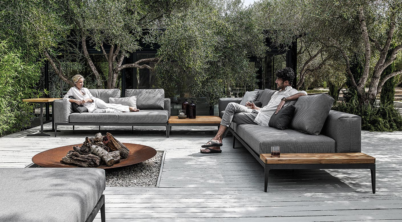 Grid Collection Modern Luxury Outdoor Furniture Gloster - Garden Furniture Clearance Gloucester