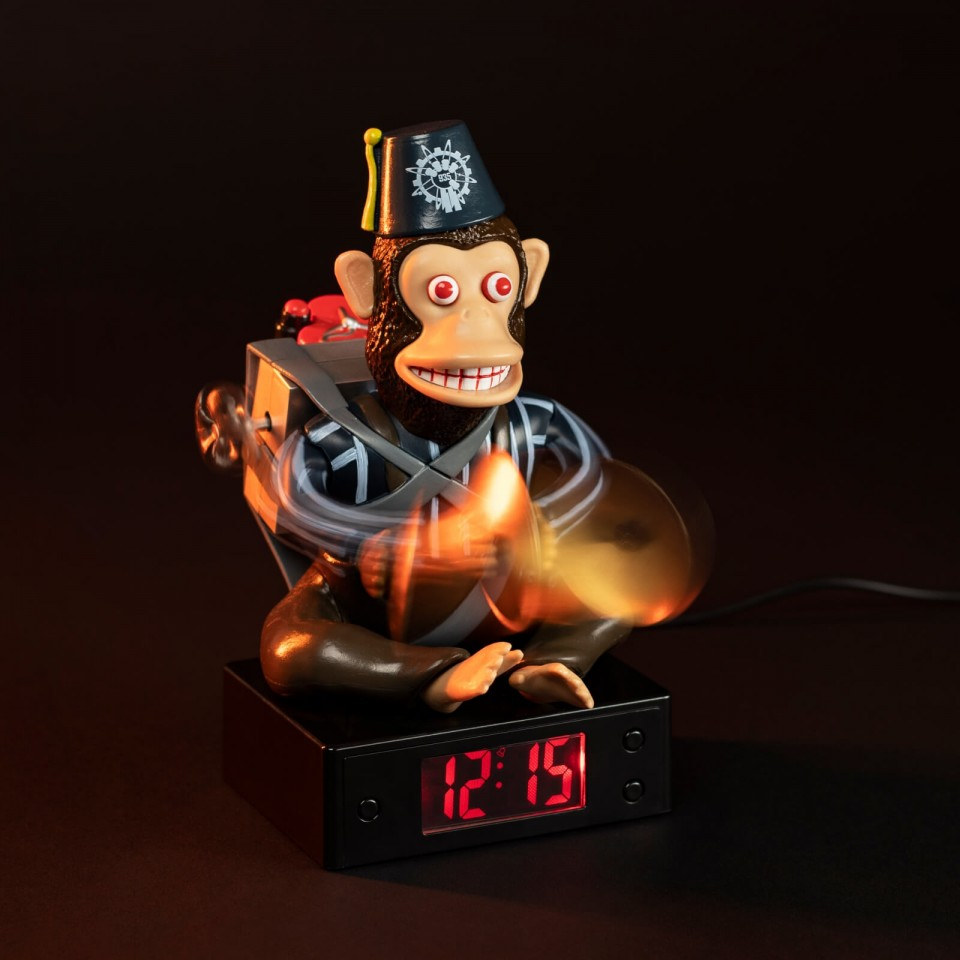 Call Of Duty Monkey Bomb Alarm Clock - Online Alarm Clock Bomb