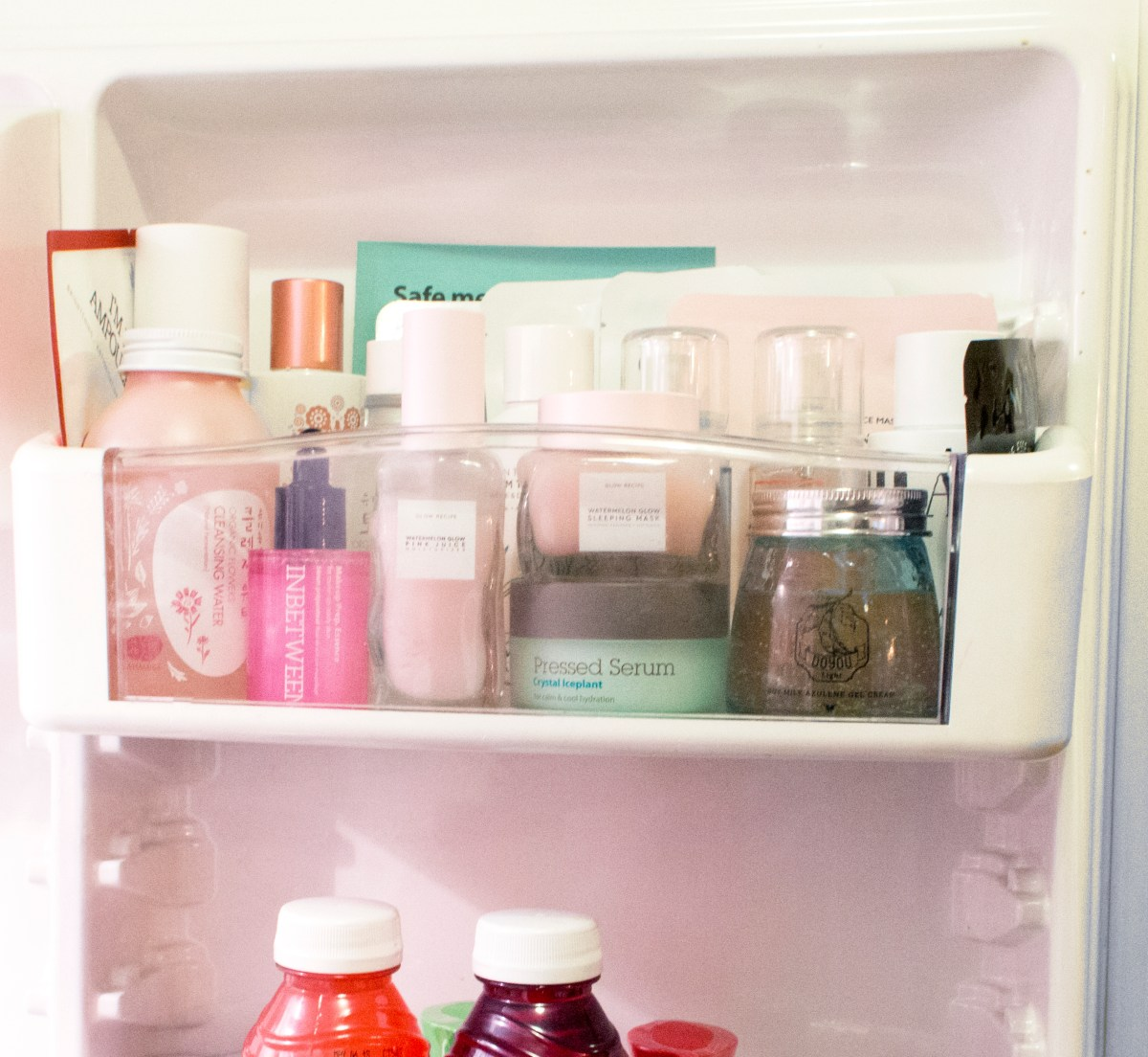 Beauty Shelf Why You Should Keep These Products In Your Fridge Glow