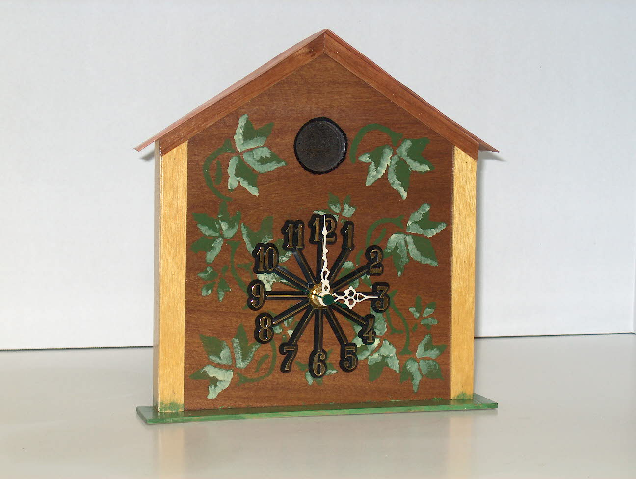 Birdhouse Clock Gls Woodworks Products