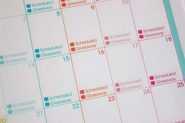 2014 Printable Day Planner