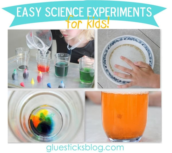 Easy Science Experiments for Kids