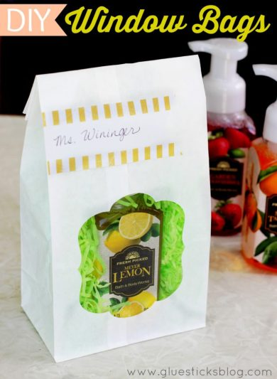 DIY Window Bags