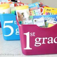 Back to School Classroom Totes