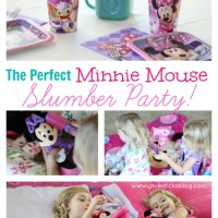 Minnie Mouse Slumber Party!