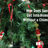 How Does Santa Get Into Homes Without a Chimney?