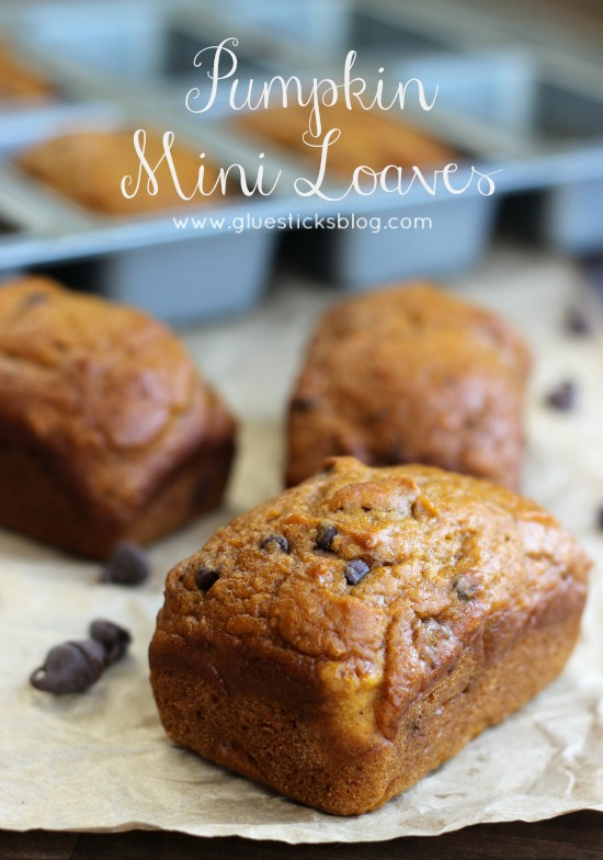 Pumpkin Mini Loaves