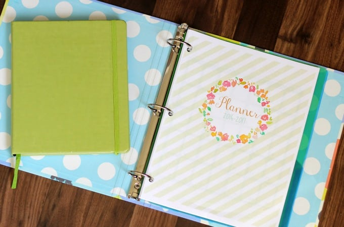 Free 2016 Printable Planner