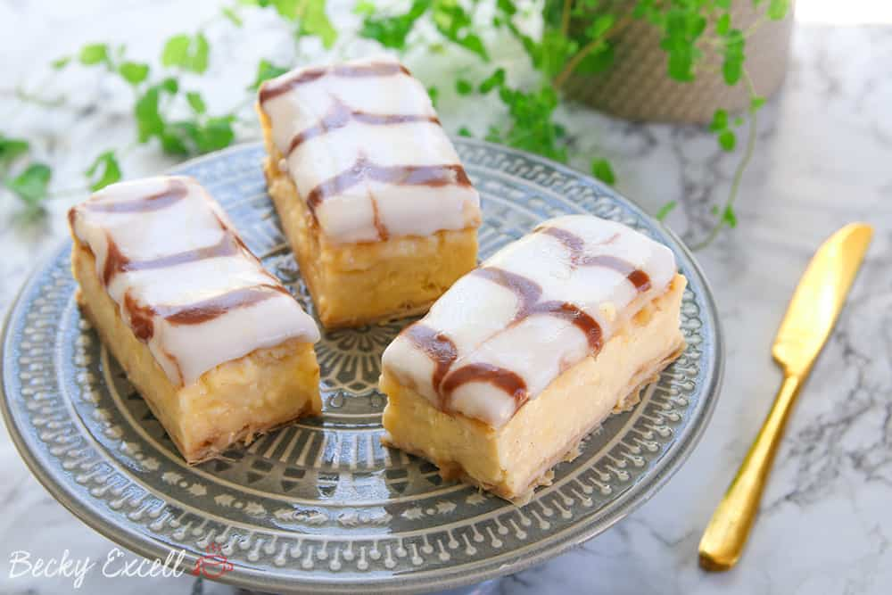 My Gluten Free Custard Slice Recipe