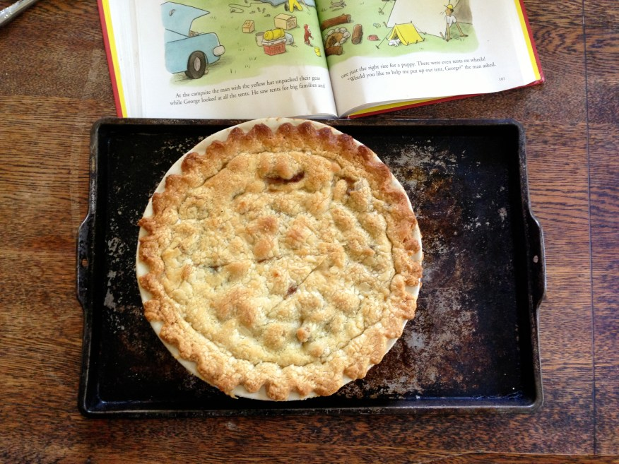 chicken pot pie with curious george