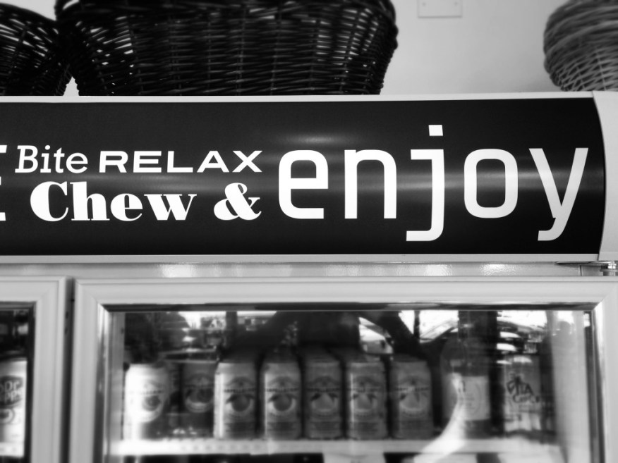 relax and enjoy
