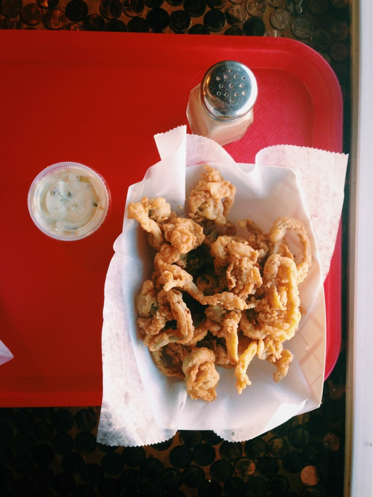 Boston- fried clams