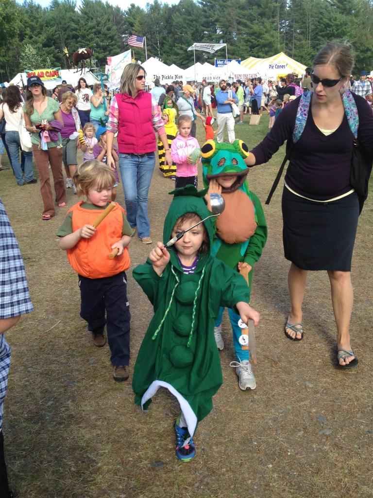 Maine- vegetable garden parade
