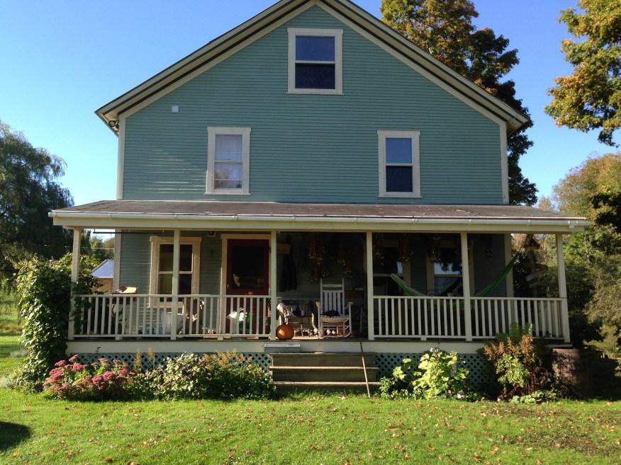 Vermont- farm house
