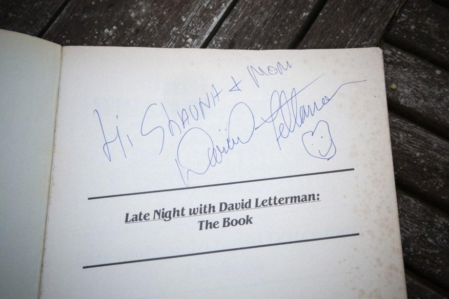 Letterman signature