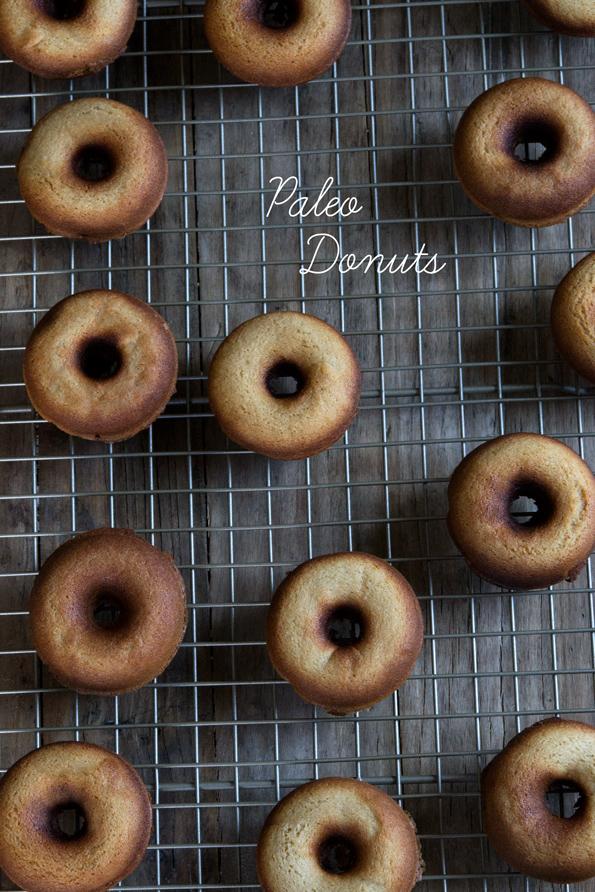 Paleo Bread Maker Doughnuts
