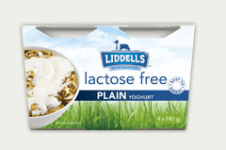 Liddells lactose free yogurt