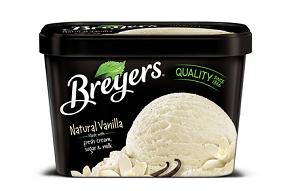 Breyers Natural Vanilla Gluten Free