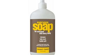 Everyone 3-In-1 Coconut & Lemon Natural Soap