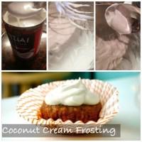 Skinny Frosting: Coconut Cream