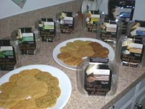 Kitchen Table Bakers Parmesan Crisps Gluten Free