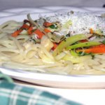 gluten free spaghetti and clams recipe