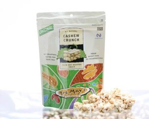 Gluten free travel foods mrs may's cashew crunch