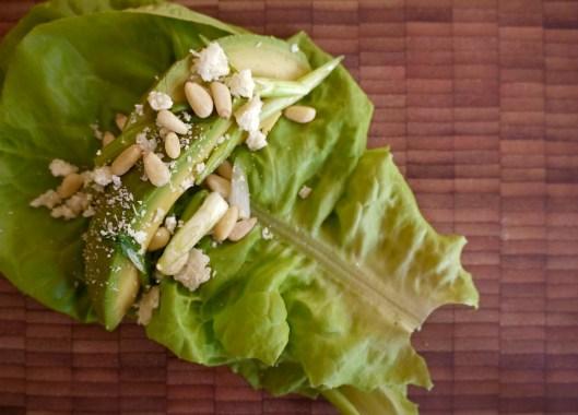 lettuce wrap open