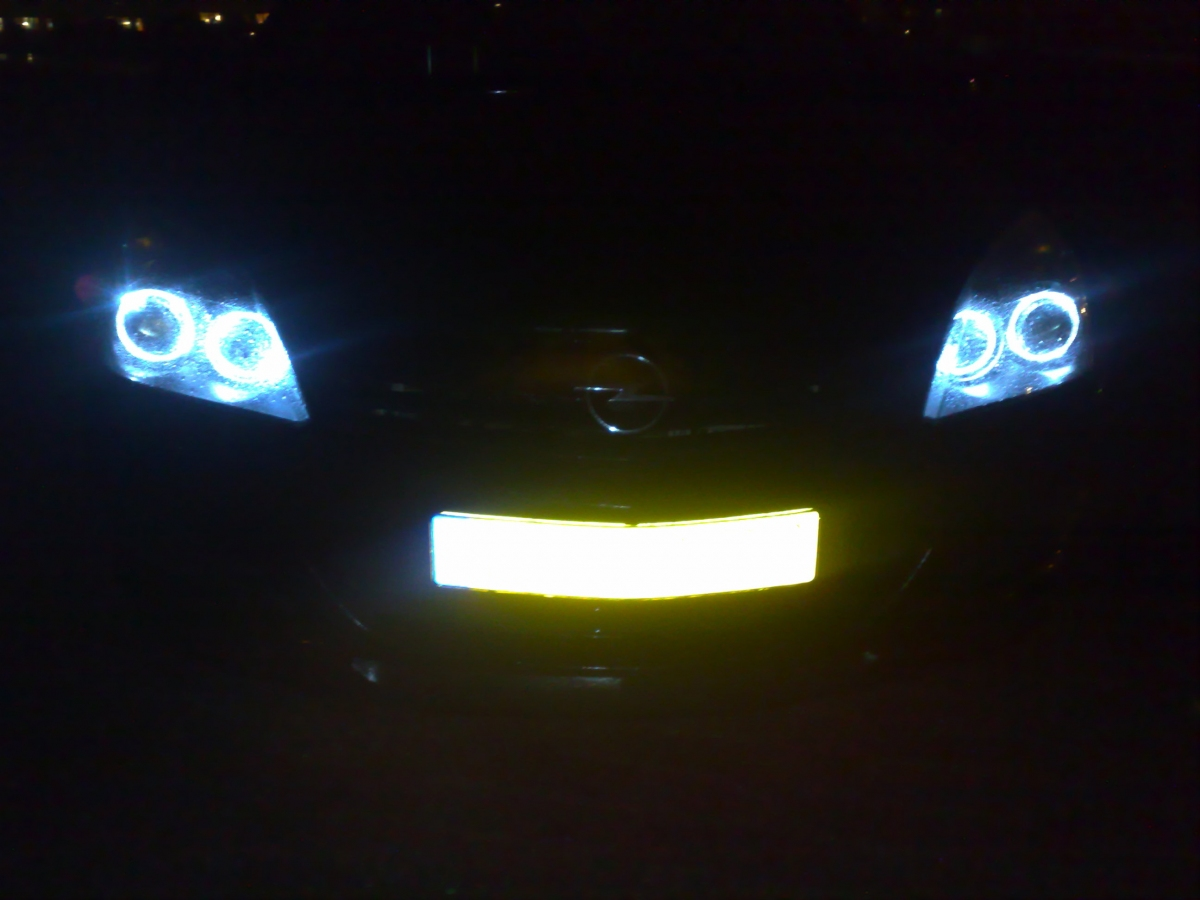 Astra H Automatische Verlichting Angel Eyes Koplampen Opel Astra H Led Gm Tuningparts