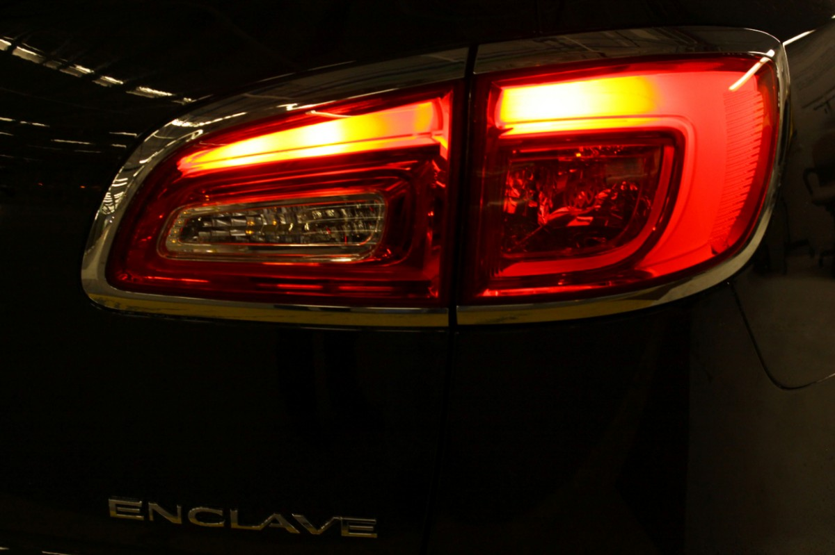 Regal Led Headlamp 2013 Enclave Lighting A Sign Of Future Buick Design Gm