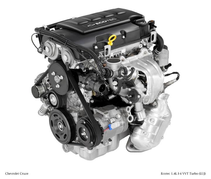 GM 14 Liter Turbo I4 Ecotec LUJ  LUV Engine Info, Power, Specs