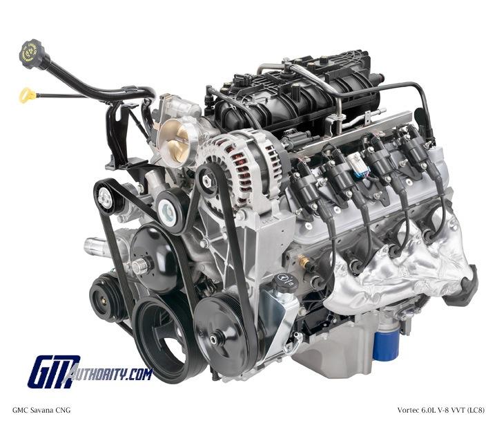 GM 60 Liter V8 Vortec CNG/LPG LC8 Engine Power, Specs, Wiki GM