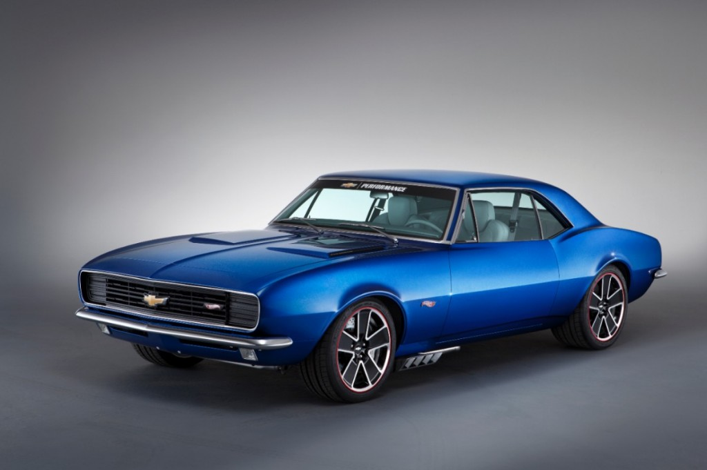 SEMA 2012 One-Off 1967 Chevrolet Camaro Hot Wheels Concept