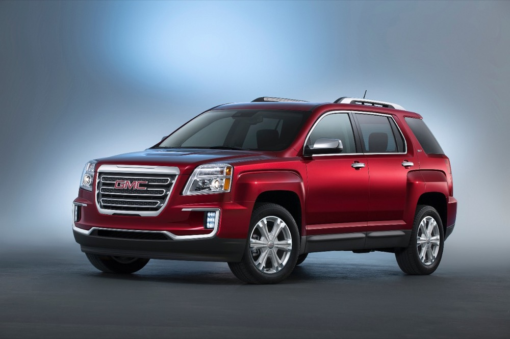 GMC Terrain Sales Down 31 In November 2016 GM Authority