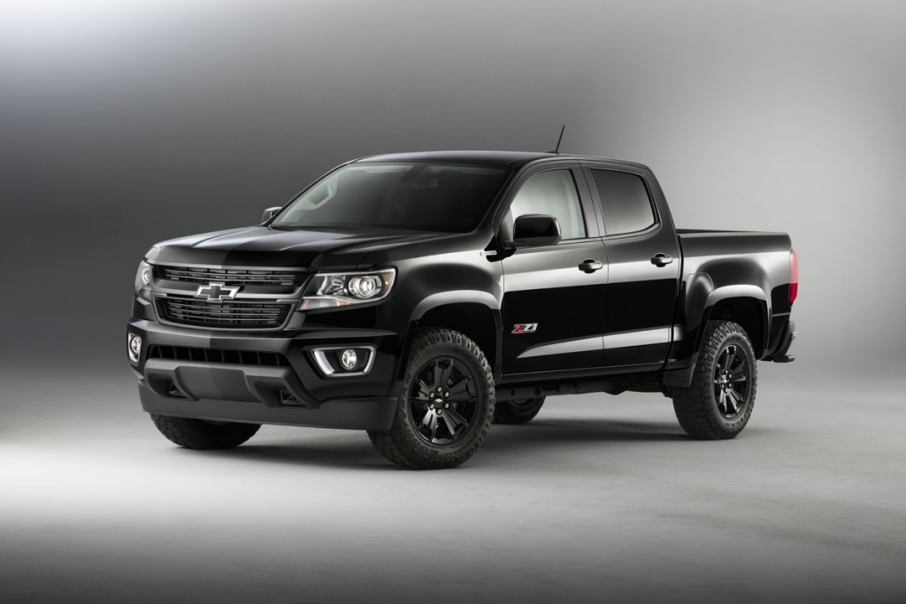 Chevy Unveils 2016 Colorado Midnight Edition GM Authority