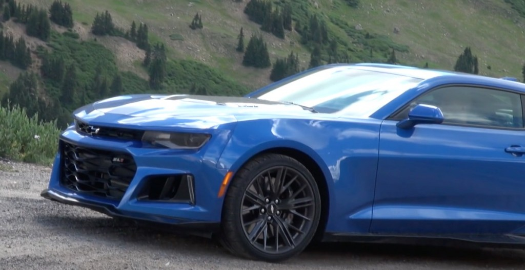 2017 Chevy Camaro ZL1 Spied In Colorado GM Authority