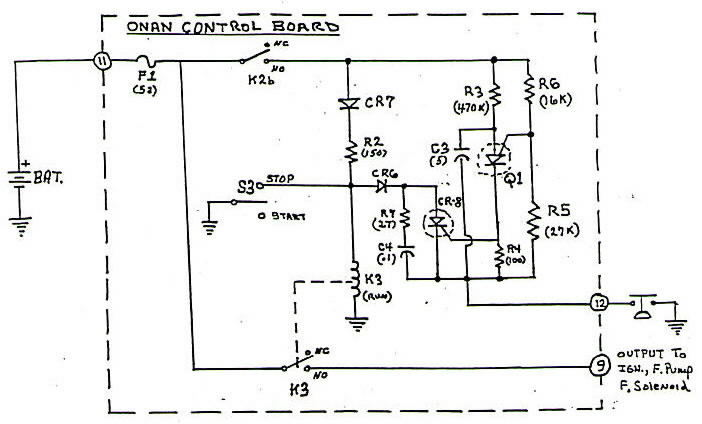 onan generator electrical diagram