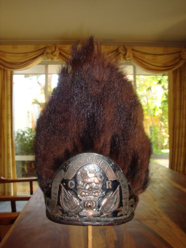 Gentleman's Club Grenadier Bearskin Cap, Regulations Of 1768, 59th Regiment