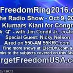 Let Freedom Ring 2016.com – The Radio Show 10-09-16