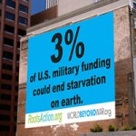 3% of US Military funding could end starvation on Earth